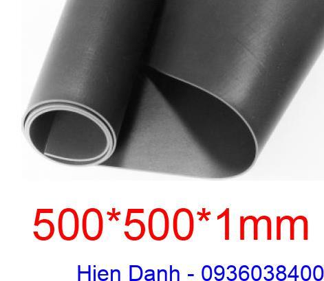 Tam cao su chiu dau 1 ly(500x500x1mm)