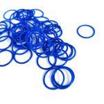 Oring silicone mau xanh
