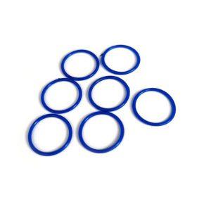 Oring silicone mau xanh D40x2